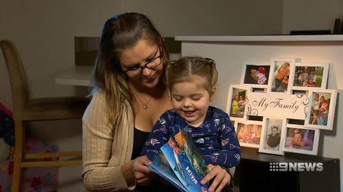 Suzie Burrows discovered her daughter Maddi had breathing issues when she was just nine months old.