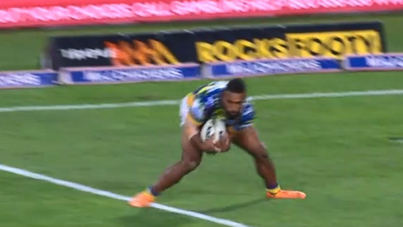 Dogs score controversial NRL win over Eels