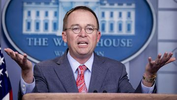 """Mick Mulvaney essentially admitted the Ukraine deal was a """"quid pro quo""""."""