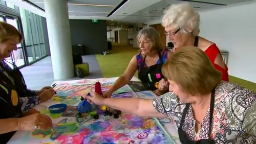 Activities including art lessons will be available for seniors at a discount.