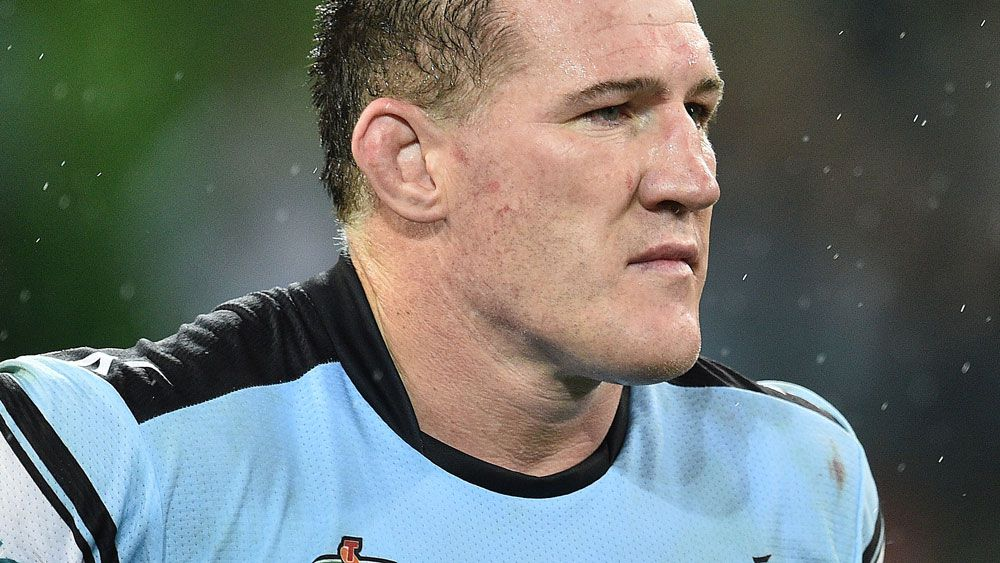 Sharks captain Paul Gallen remains in doubt. (AAP)