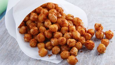 Healthy chickpea snacks