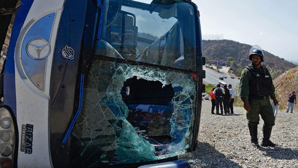 Club side's bus overturns in Venezuela