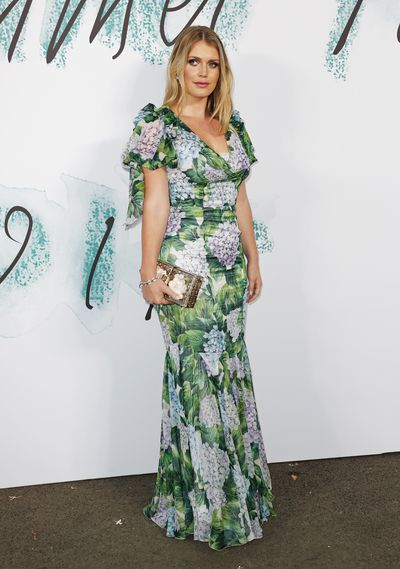 Kitty Spencer in Dolce & Gabbana at the Serpentine Galleries Summer Party in London, June, 2017
