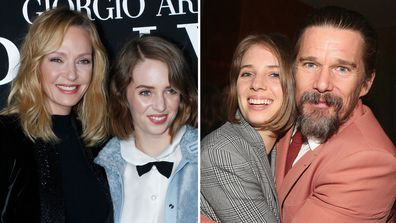 Ethan Hawke, Uma Thurman, daughter, Maya Hawke