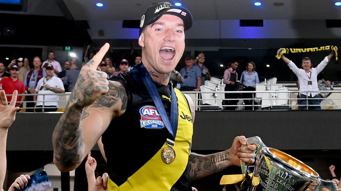 Leigh Matthews says Dustin Martin is the only player who rightfully compares to him