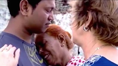 Saroo and his birth mother