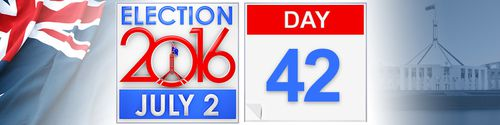 Day 42 of the federal election campaign