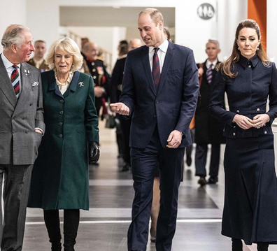 Prince Charles and Camilla, along with the Duke and Duchess of Cambridge, stepped up their duties before coronavirus struck.