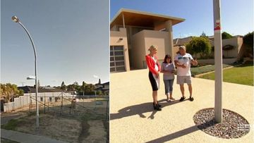 Grandparents in battle over lamp post in driveway