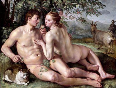 The Fall of Man, Hendrick Goltzius (1616)