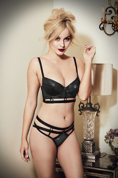 Simone Holtznagel in Bras N Things' new Vamp collection