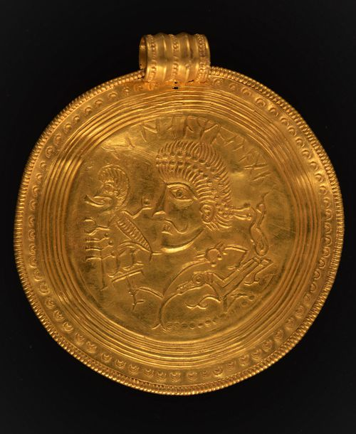 Some of the medallions are as large as saucers.