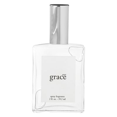 "<p>Scent</p> <p><a href=""https://www.mecca.com.au/philosophy/pure-grace-fragrance/I-001005.html"" target=""_blank"" draggable=""false"">Philosophy Pure Grace Fragrance, $65</a></p>"