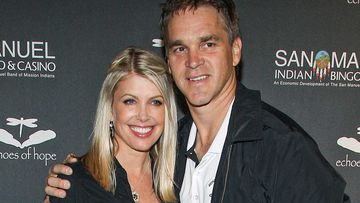 Stacia and Luc Robitaille. (AAP)