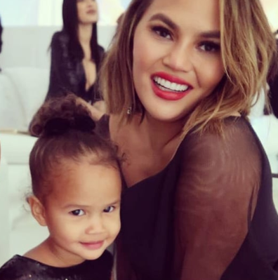 Chrissy Teigen mum-shamed over video of daughter