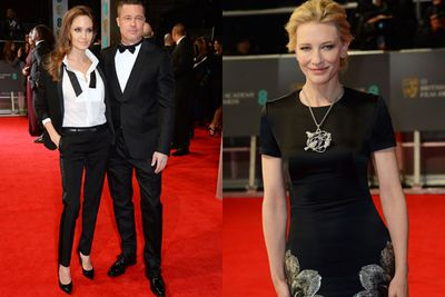 We truly do love awards season! <br/><br/>Check out our Tinseltown faves on the BAFTAs 2014 red carpet... who gets your vote for best dressed? <br/>