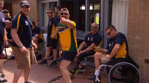 The athletes move to Homebush tomorrow ahead of the Games on the weekend.