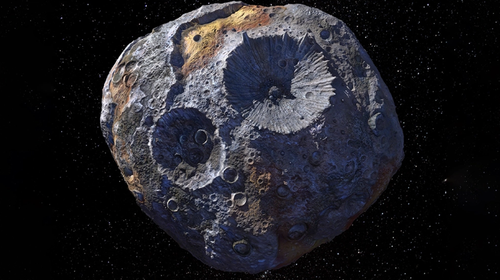 The rare asteroid is orbiting between Mars and Jupiter.