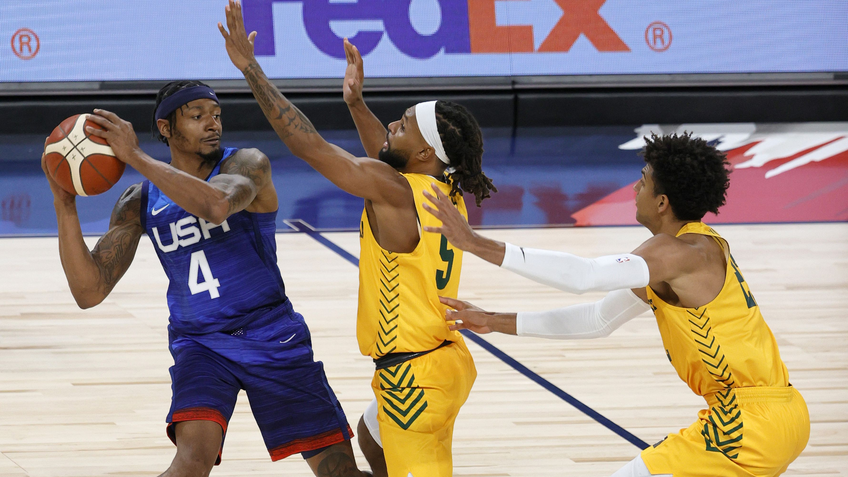 AP source: Team USA star Bradley Beal in protocols, Tokyo Olympics status in doubt