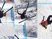 Horror high-speed crash mars ski cross
