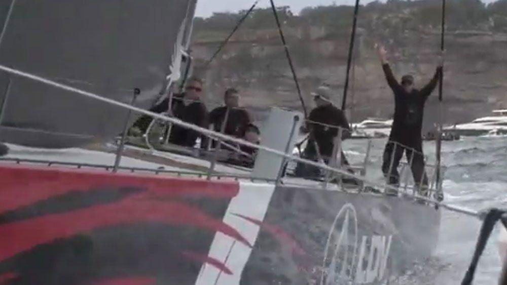 LDV Comanche leading Sydney Hobart race