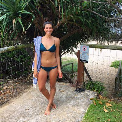 Swimmer Stephanie Rice hit the Gold Coast