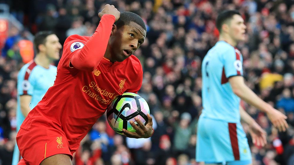 Liverpool keep top-four hopes alive after bland win over Burnley