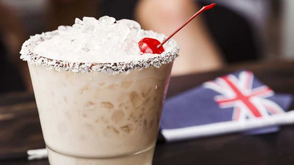 Lamington cocktail
