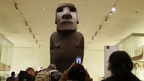Easter Islanders want towering statue back from British Museum