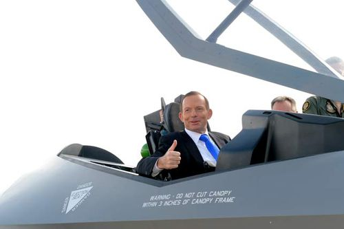 The Abbott Government announced it would purchase an additional 58 F-35 Joint Strike Fighters last year, at an initial cost of $12.4 billion. (AAP)
