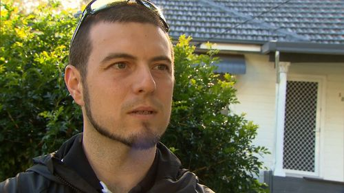 Ben Croese said it was terrifying to think what happened right near his daughter's school. Picture: 9NEWS