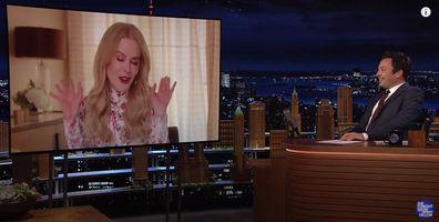Nicole Kidman on The Tonight Show Starring Jimmy Fallon