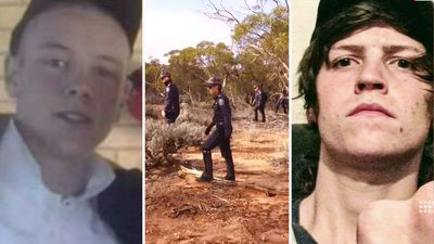 Suspect in alleged outback murder of father-of-two missing