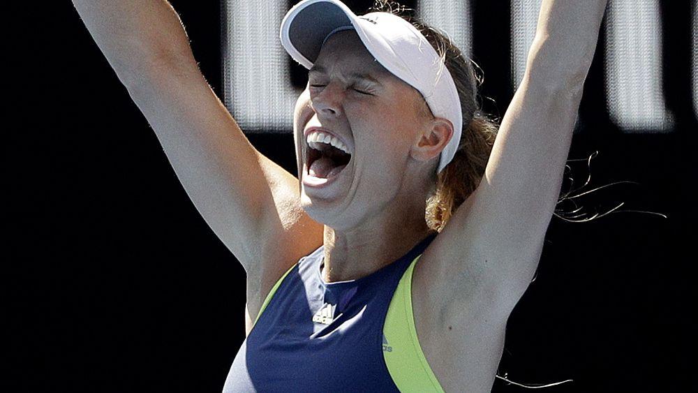 Tennis: Caroline Wozniacki to meet Simona Halep in women's singles Australian Open final