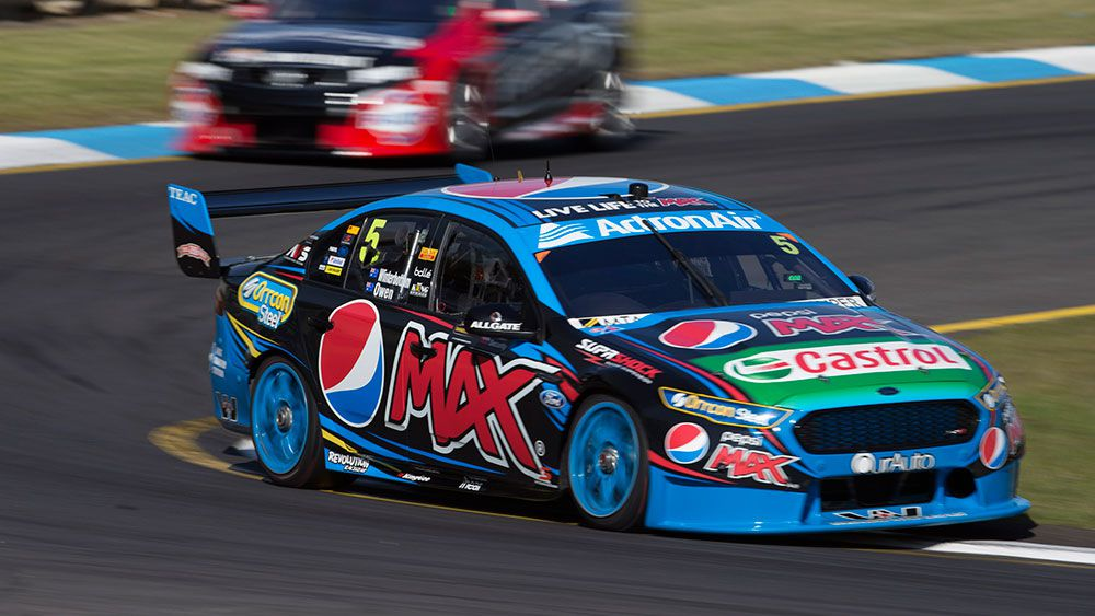 Winterbottom calm ahead of V8s storm