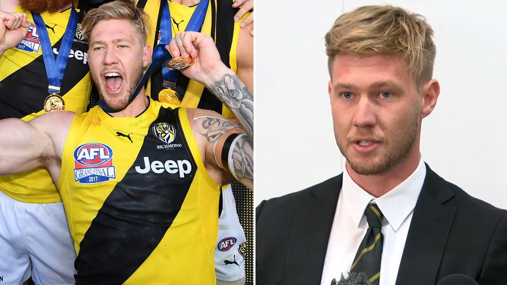 Richmond Tigers nude photo scandal: Nathan Broad has no one