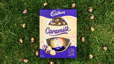 Cadbury Caramilk Easter egg