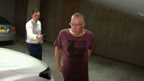 The convicted rapist spent 18 years in prison for raping eight women. Picture: 9NEWS