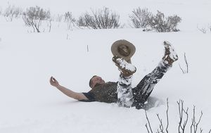IN PICTURES: Aussies enjoy weekend winter wonderland in NSW, Victoria and the ACT
