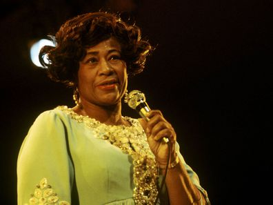 Ella Fitzgerald performs in 1970.
