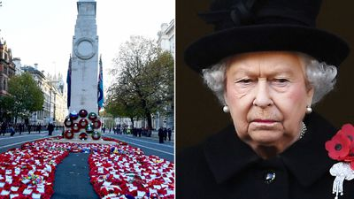 Queen leads World War I armistice centenary tribute