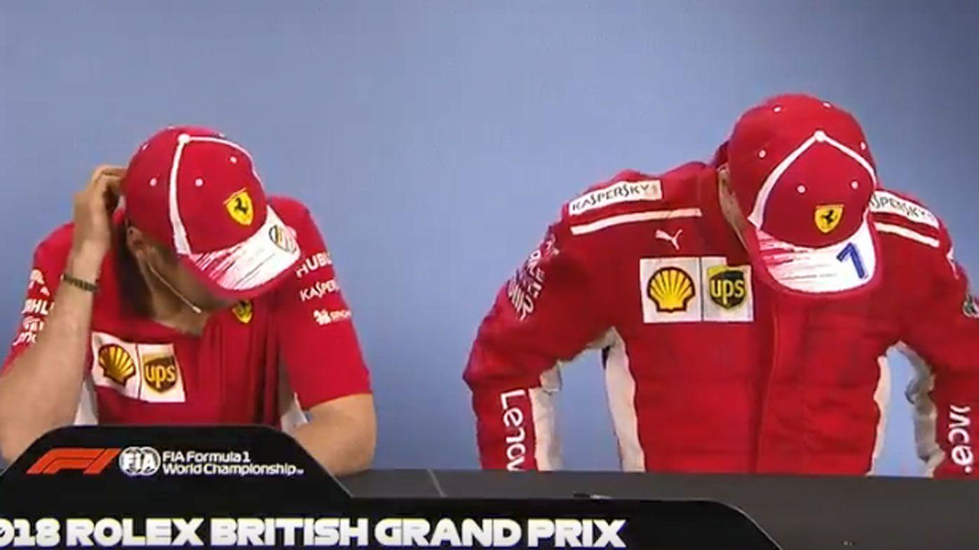 Sebastian Vettel and Kimi Raikkonen