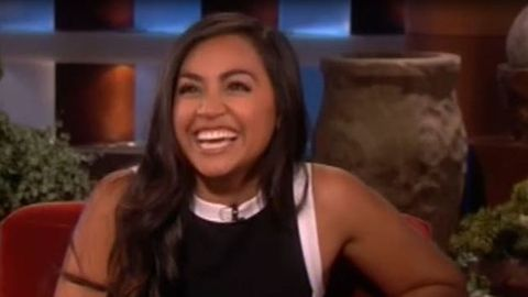 Watch: Jessica Mauboy's adorable impromptu <i>Ellen</i> performance