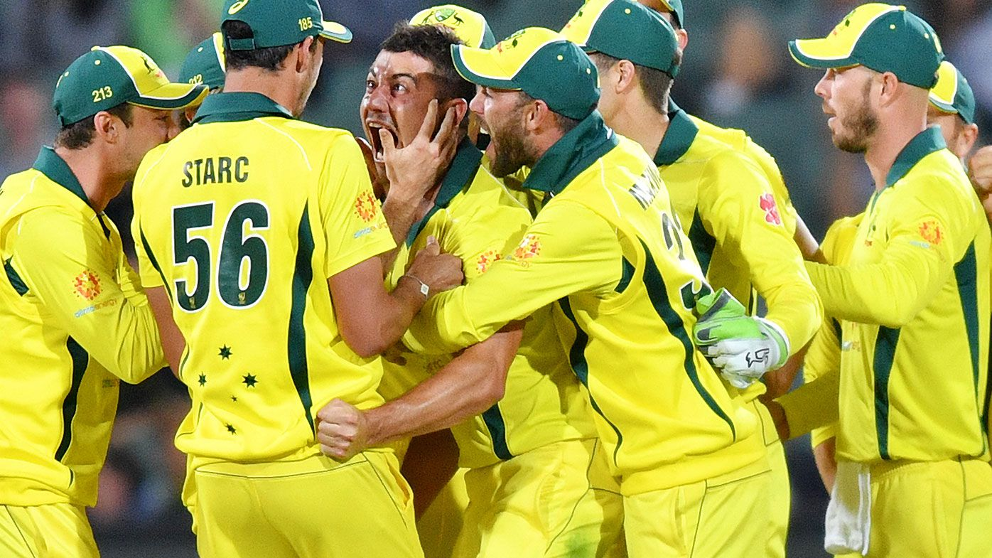 Fired-up Marcus Stoinis leads Australia to thrilling seven-run win over South Africa
