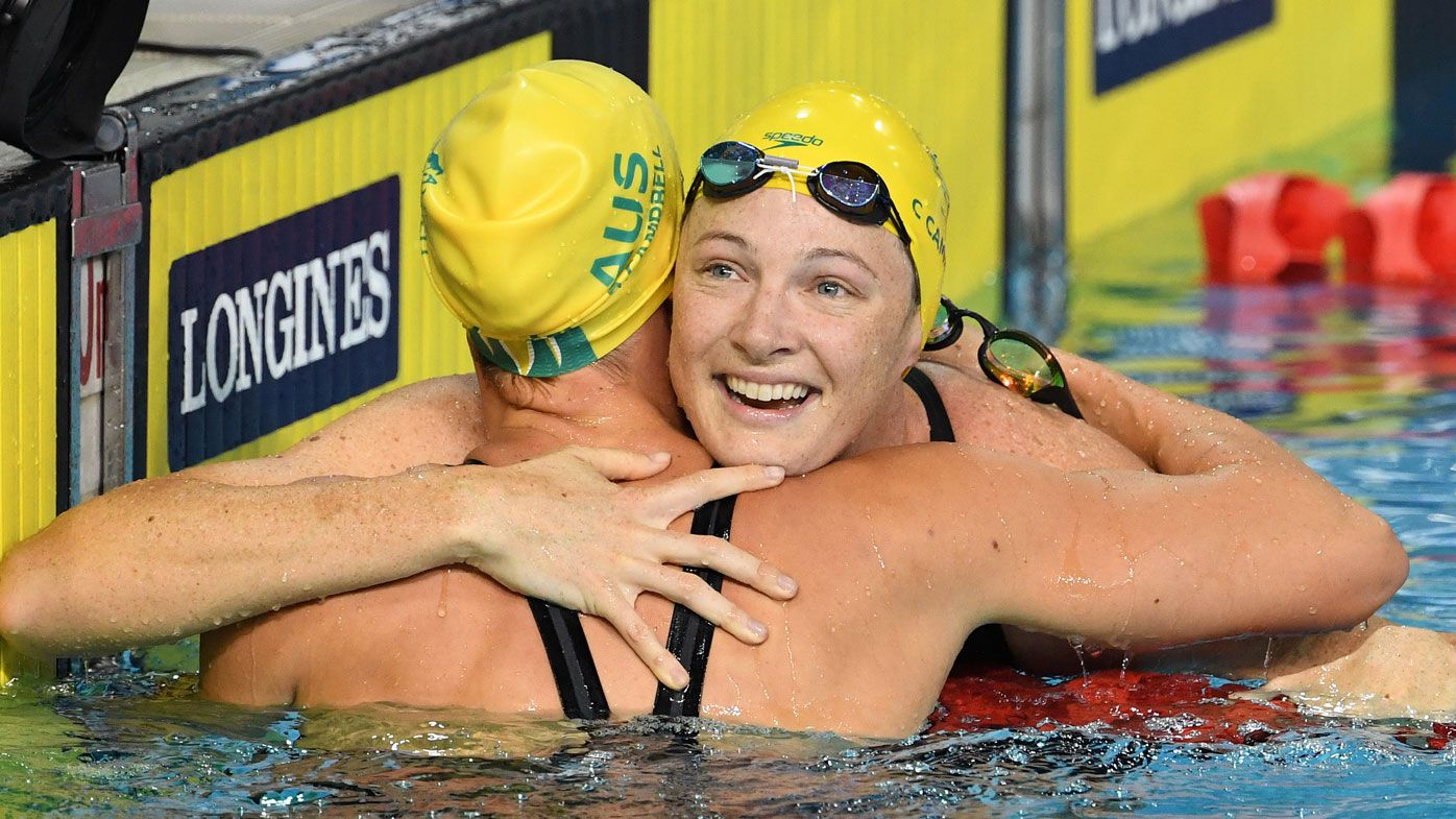 Cate Campbell's golden goosebumps