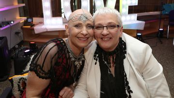 Aggressive cancer sufferer marries partner of 17 years