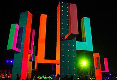 Cactus installation at Coachella festival (Getty)