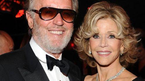 Peter Fonda with sister Jane.