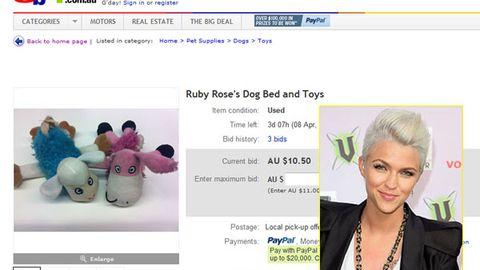 Ruby Rose ebay